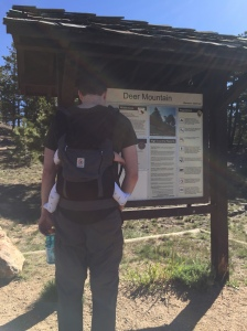 Deer Mountain trailhead