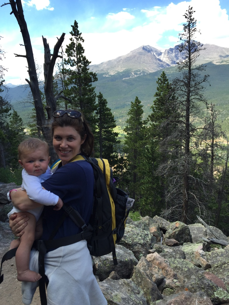 Me and my mountain baby