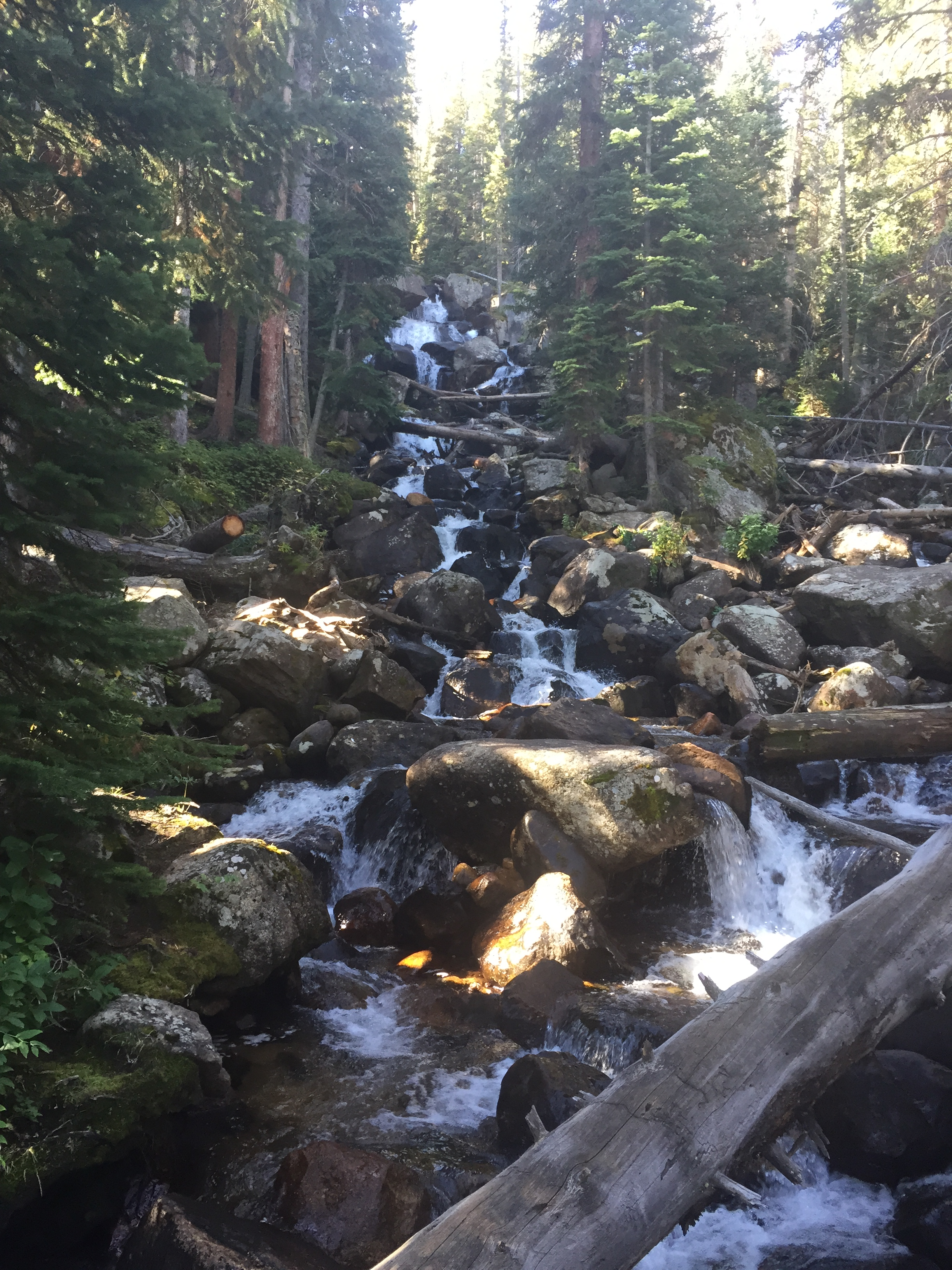 Calypso Cascades Rocky Mountain National Park Wild Basin