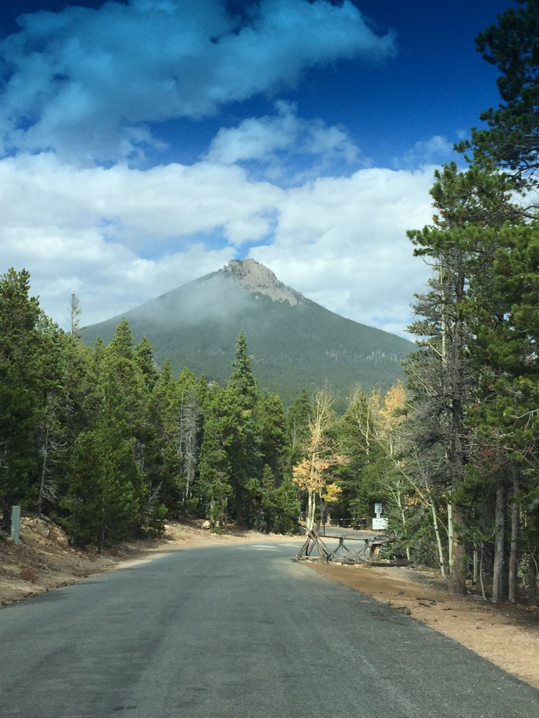 Estes Cone from parking area