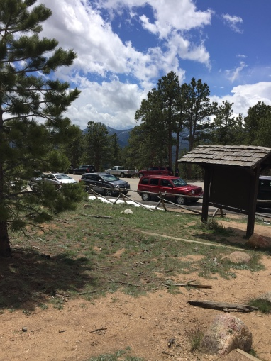 Parking near Deer Mountain is limited