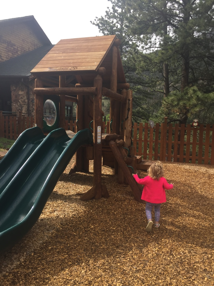 rocky mountain national park visitor center playground area