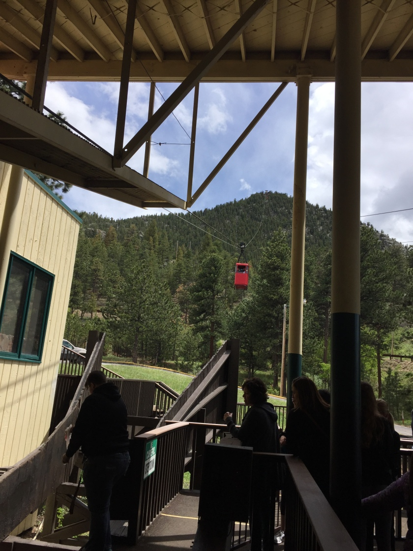 Our Trip on The Estes Park Aerial Tramway
