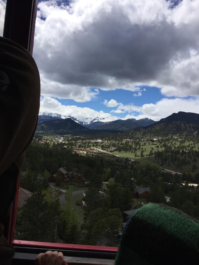 views from estes park tramway