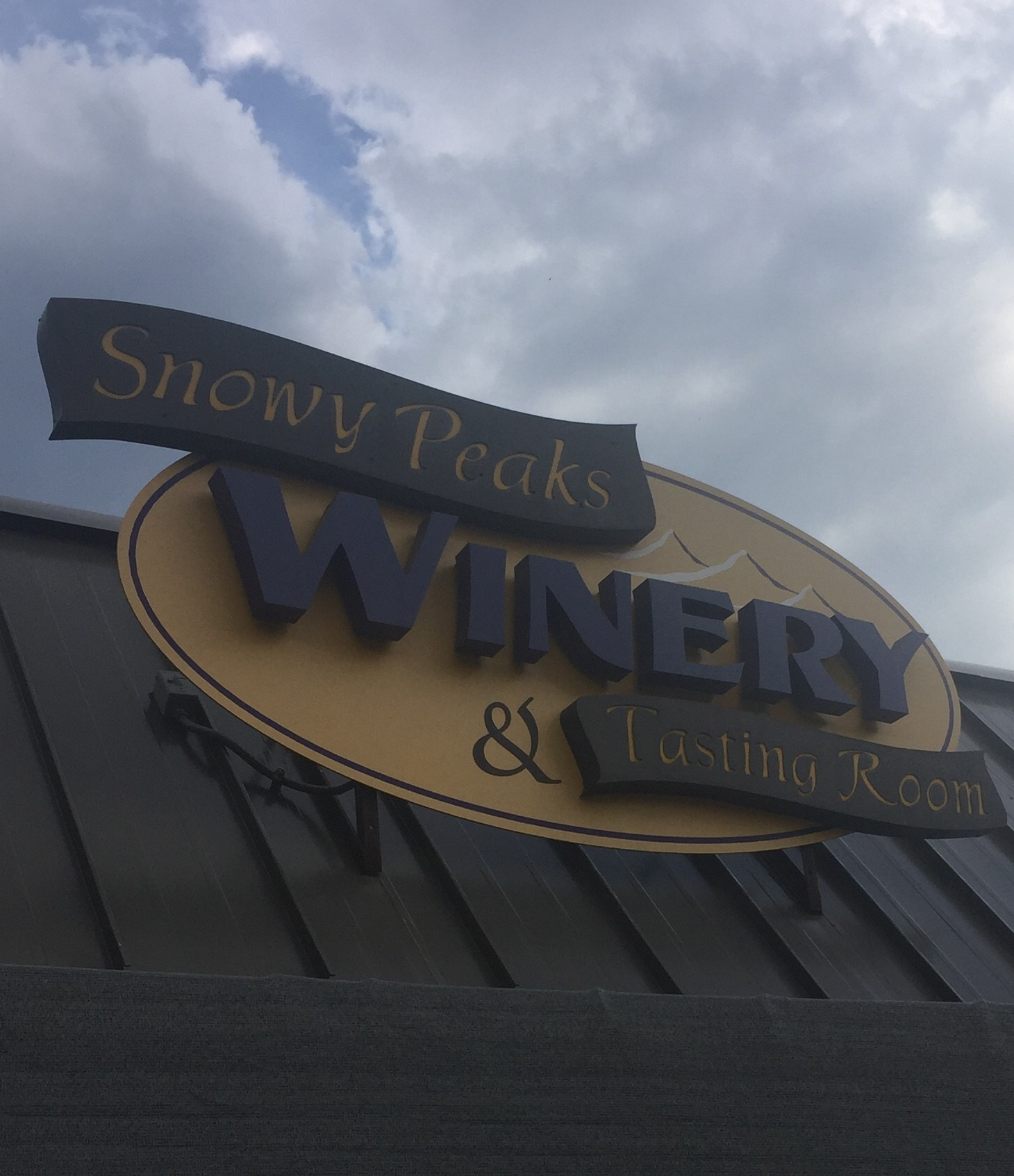 Snowy Peaks Winery and tasting room in Estes Park, Colorado