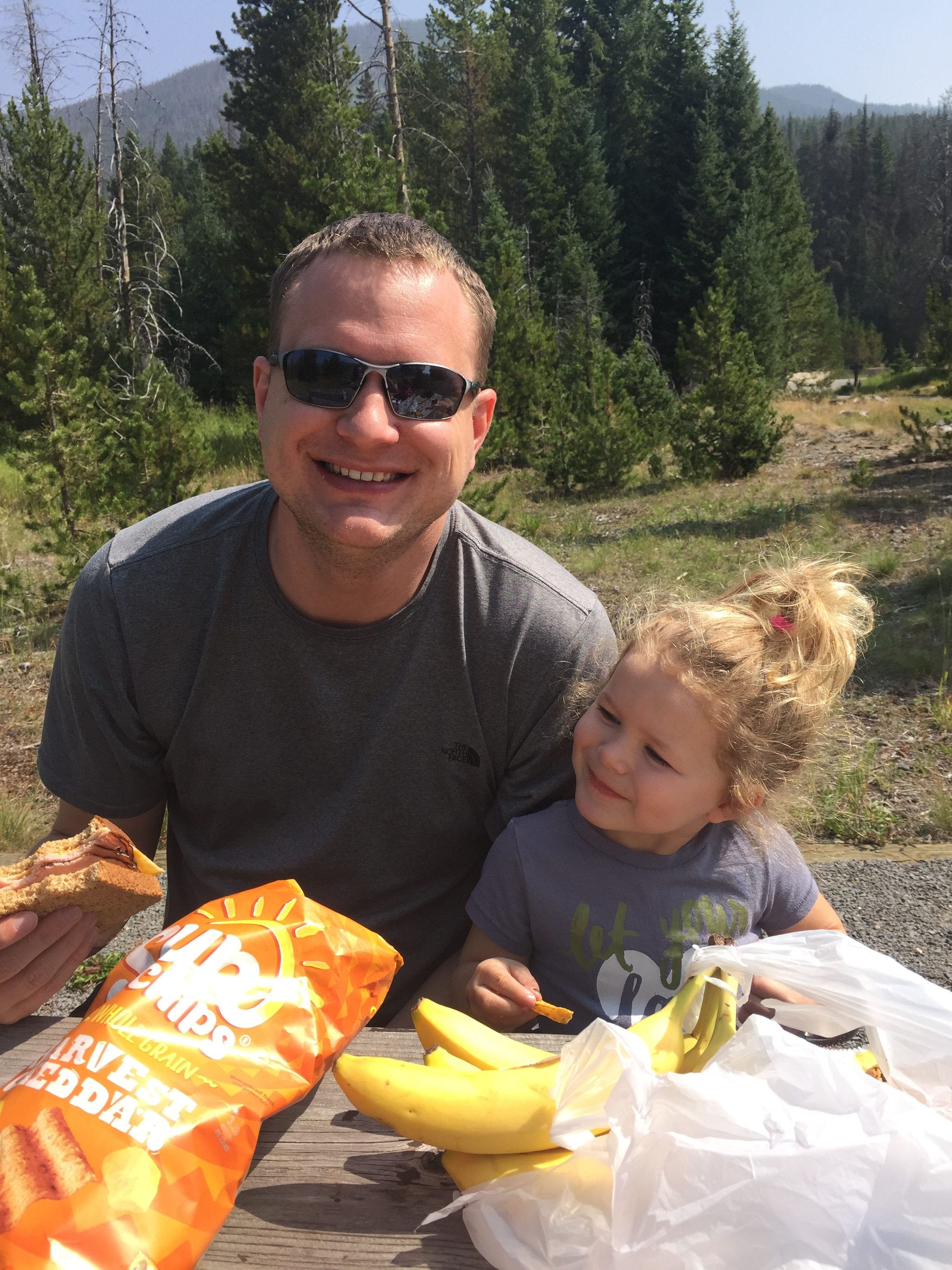 Picnicking in Rocky mountain National Park
