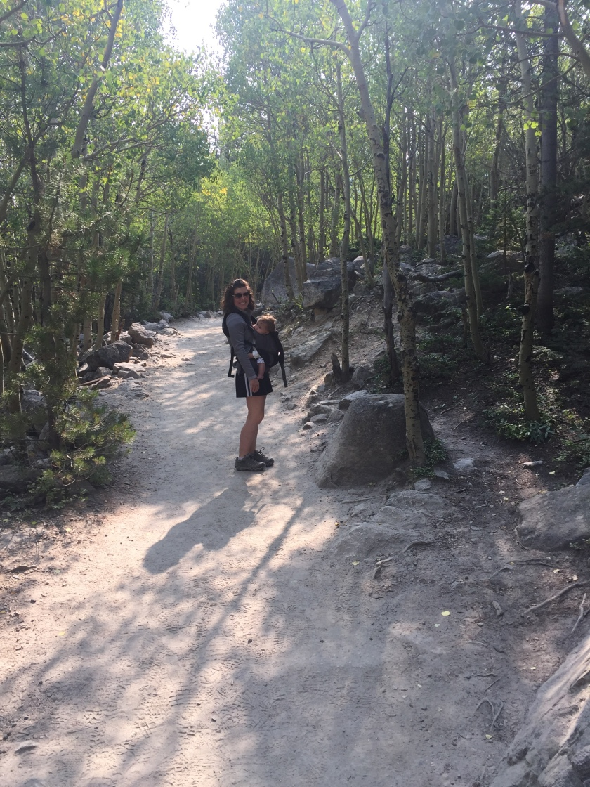 Hiking with Baby in Rocky Mountain National Park