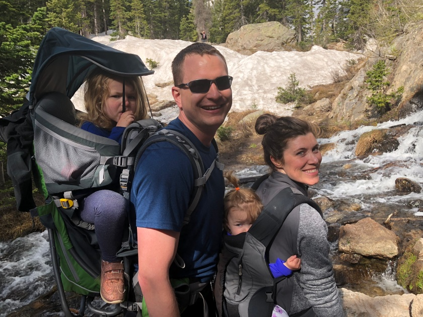 Young Families in Rocky Mountain National Park