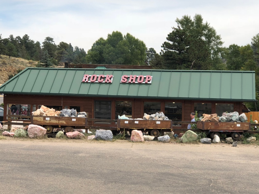 Rock Shop Estes Park Colorado