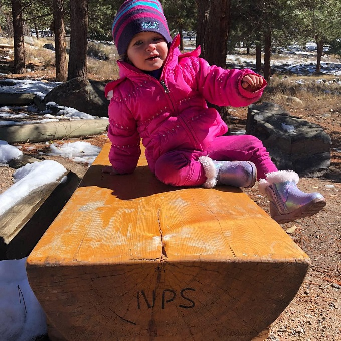 national park service snow baby
