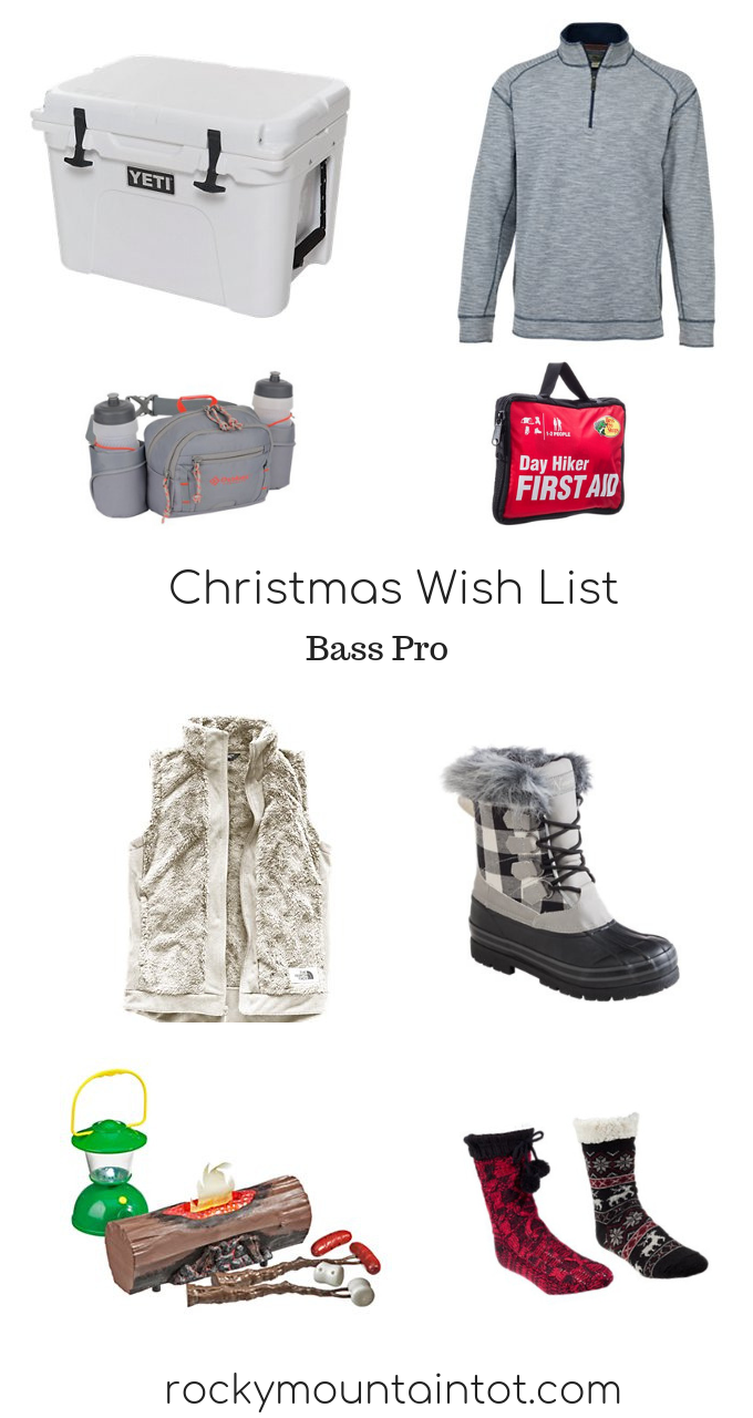 Christmas Wish List at Bass Pro