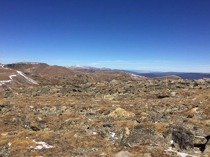 drive trailridge road in rocky mountain national park