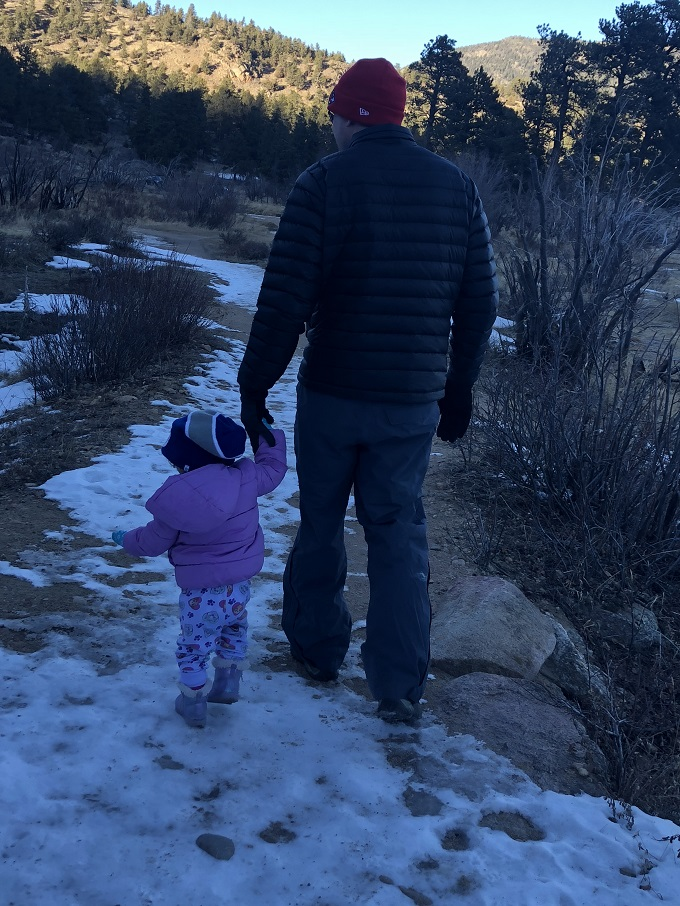 toddler friendly hiking in rocky mountain national park