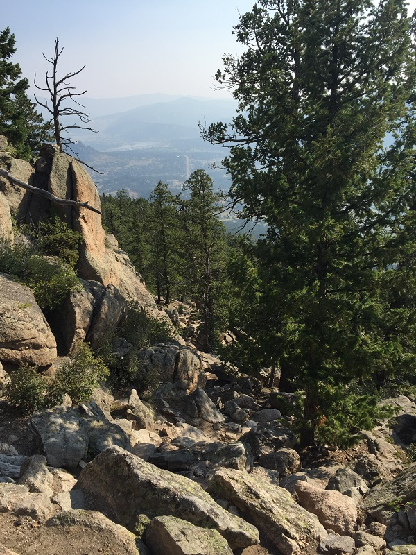 hike up Lily Mountain with views of Estes Valley