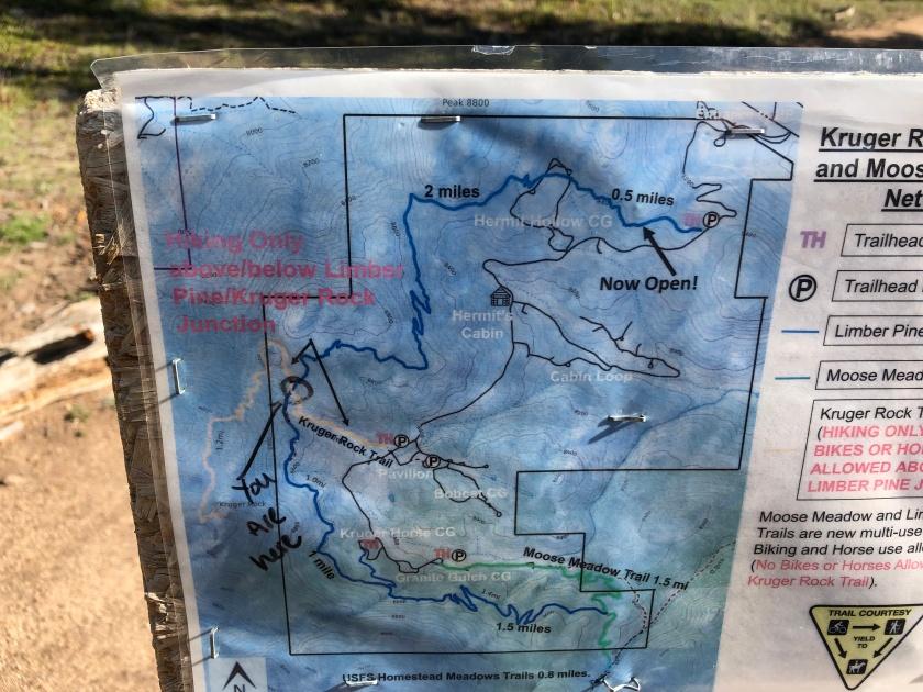 kruger rock trail