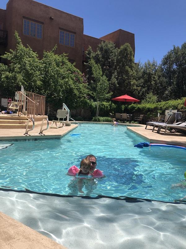 Hotel Santa Fe outdoor pool