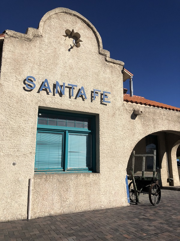 Iconic Santa Fe train stop