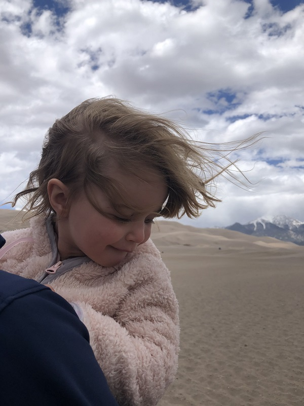 Wind at Great Sand Dunes National Park