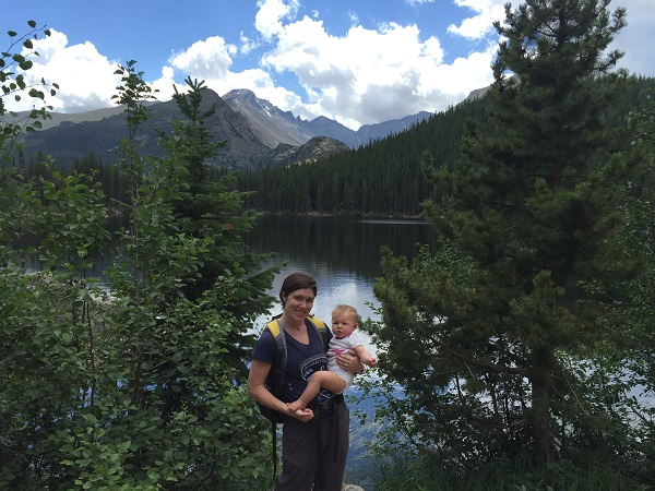 Photo by Bear Lake in Rocky Mountain National Park