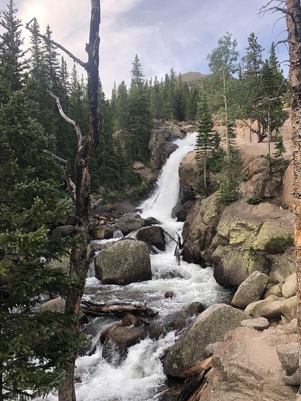 Alberta Falls in Rocky Mountain National Park