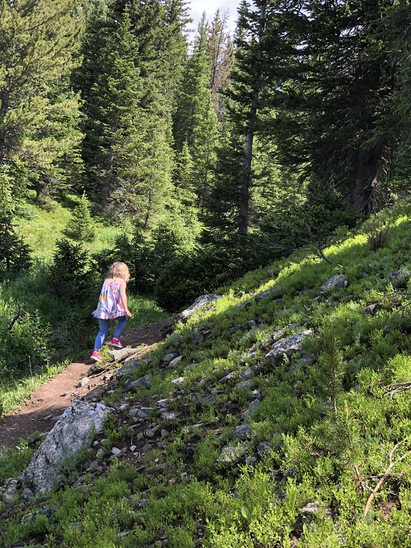 Lake Irene offers family-friendly hiking destination