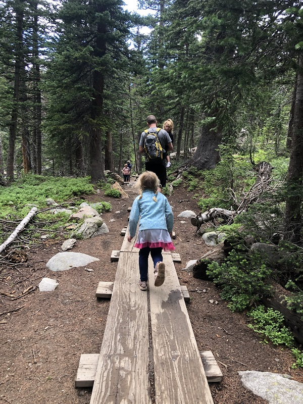 Dogs are allowed at Brainard Lake Recreation Area