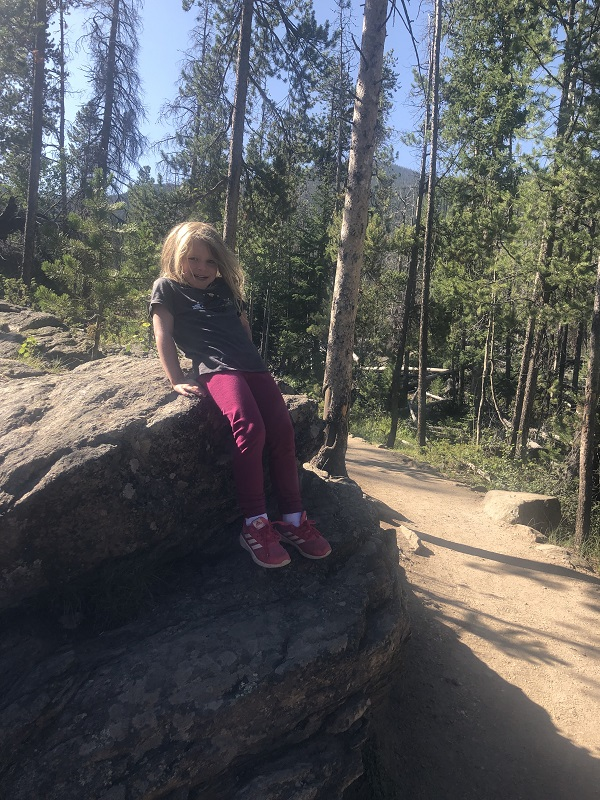 Adams Falls hike in Rocky mountain national park is a kid-friendly, family-friendly hike
