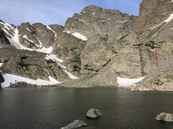 Sky Pond hike in Rocky Mountain National Park