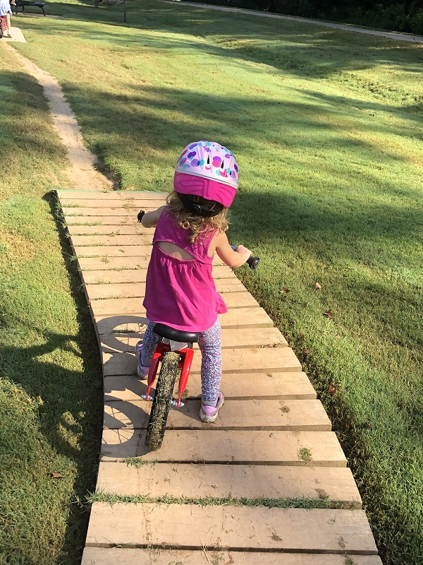 Family friendly biking destination in Bentonville Arkansas