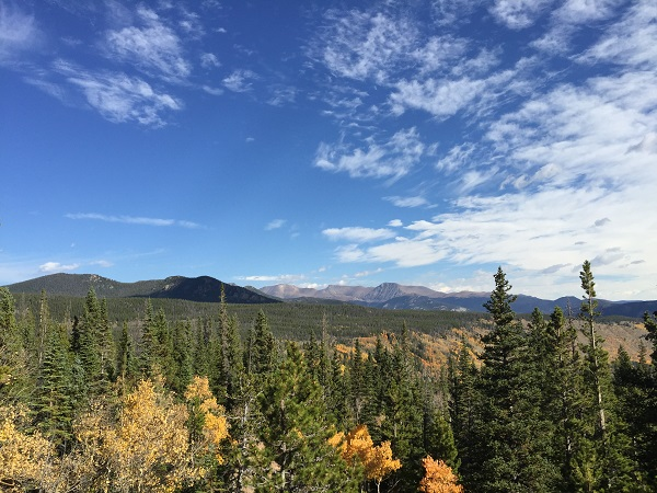 Autumn views in Rocky Mountain National Park