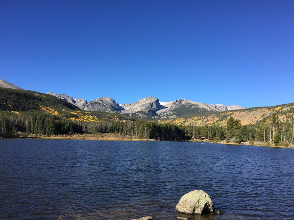 Sprague Lake in the fall. Rocky Mountain National Park top destinations