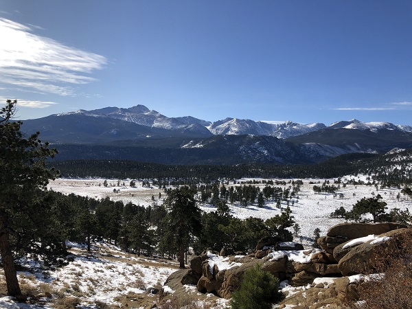 Winter in Rocky Mountain National park