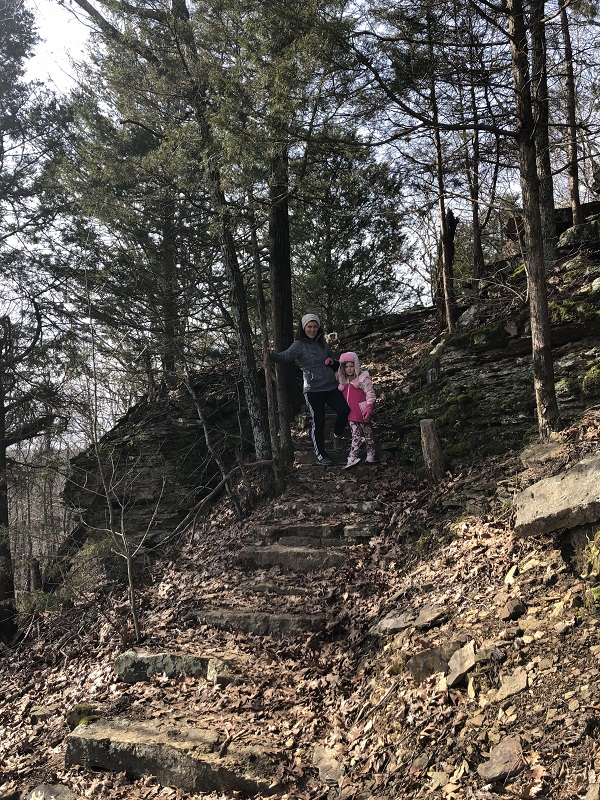 Hiking with kids in Northwest Arkansas