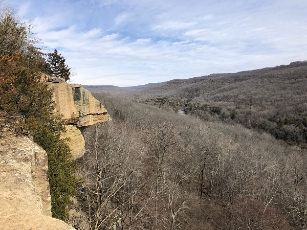 Hiking Arkansas: Yellow Rock Trail in Devil's Den State Park
