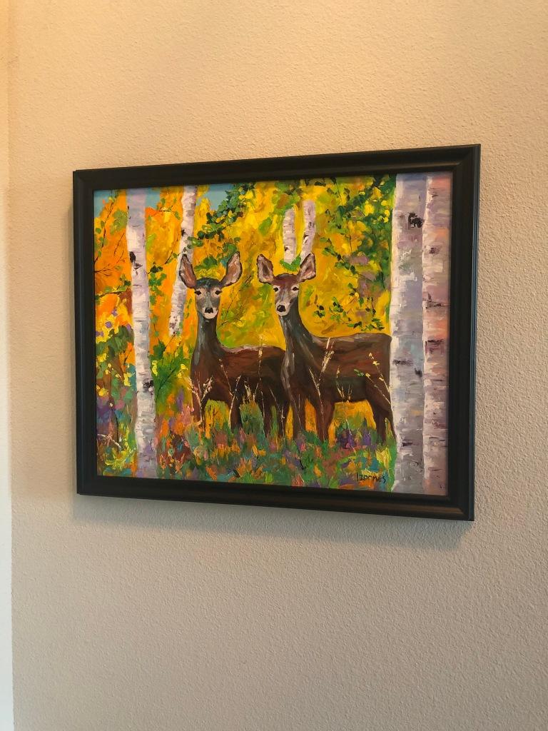 Our New Estes Park Art Rocky Mountain Tot