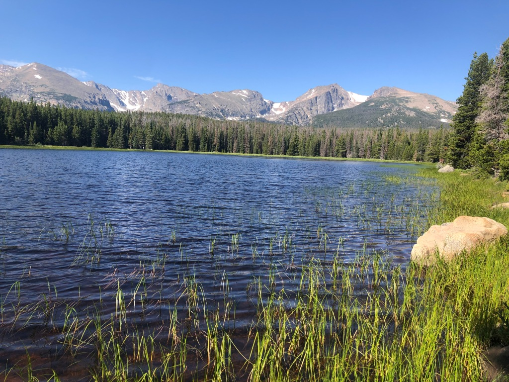 Bierstadt Lake hike in Rocky Mountain National Park.