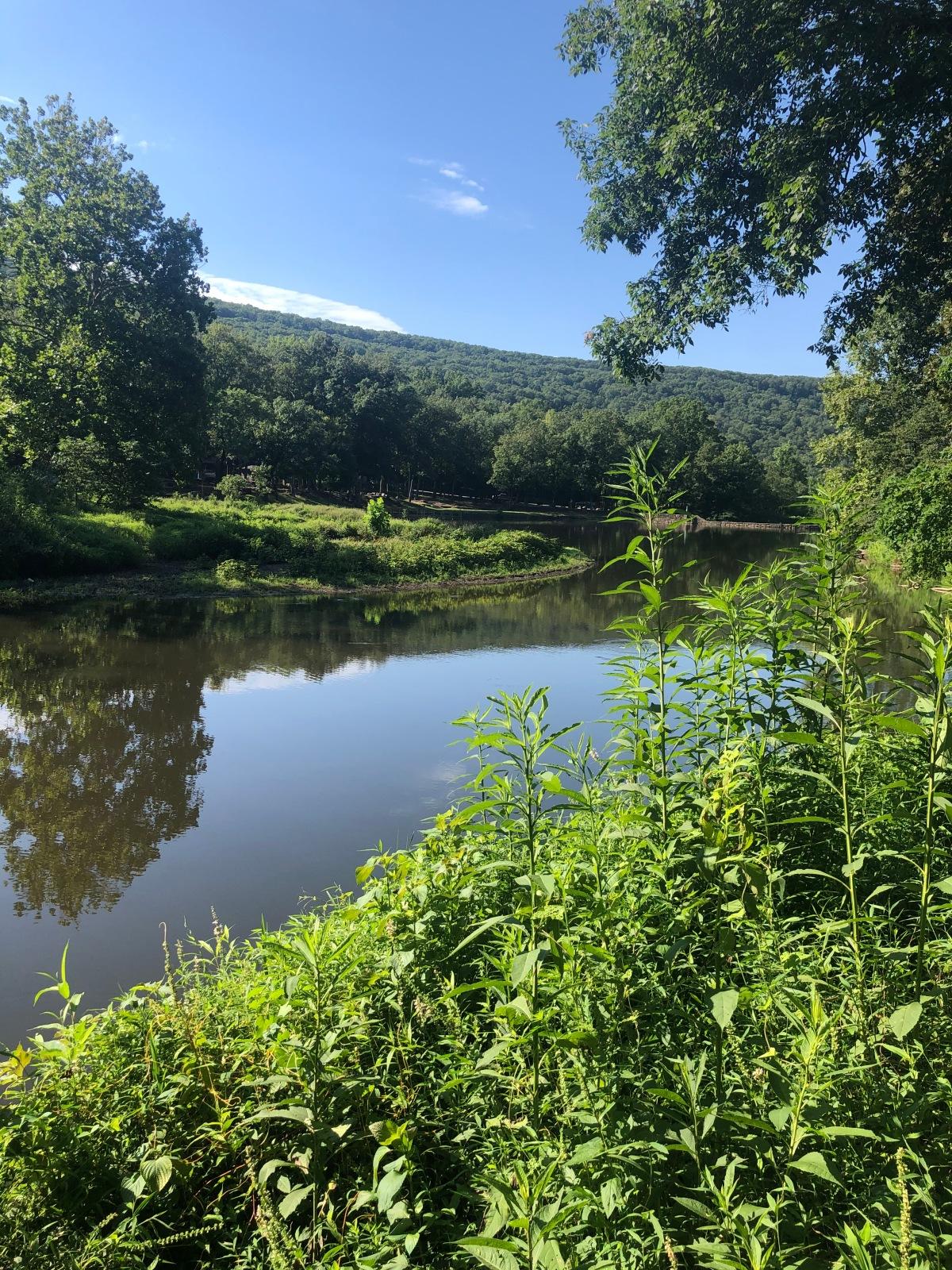Hiking Arkansas: Lake Trail at Devil's Den StatePark