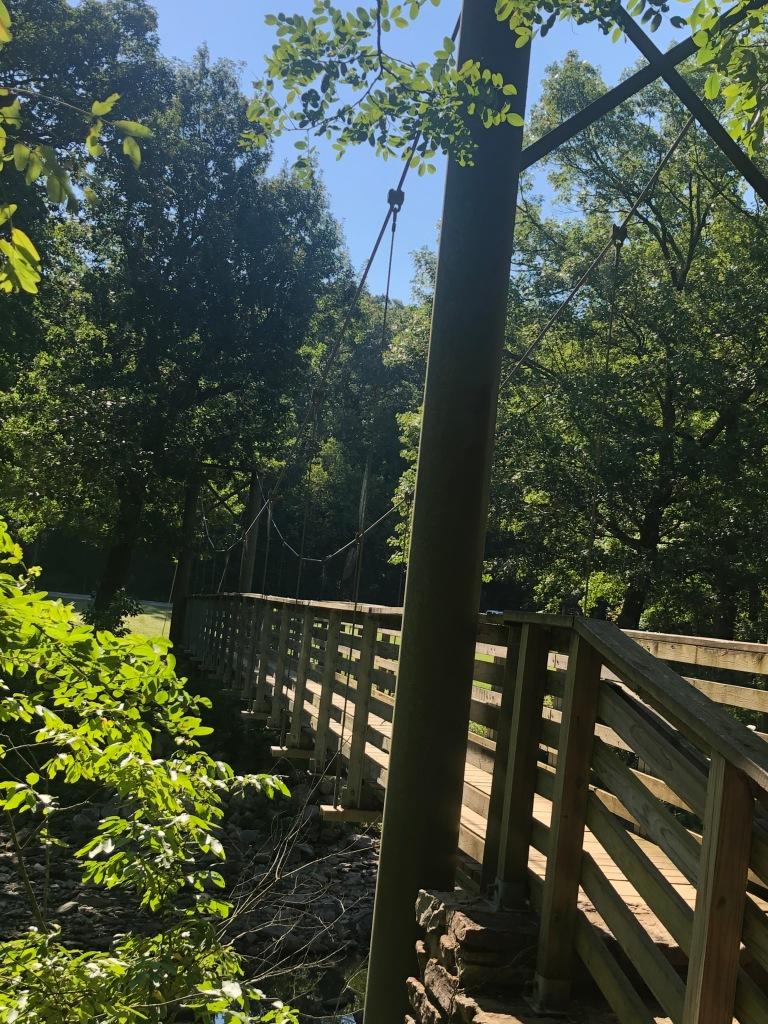 Lake Trail in Devil's Den State Park