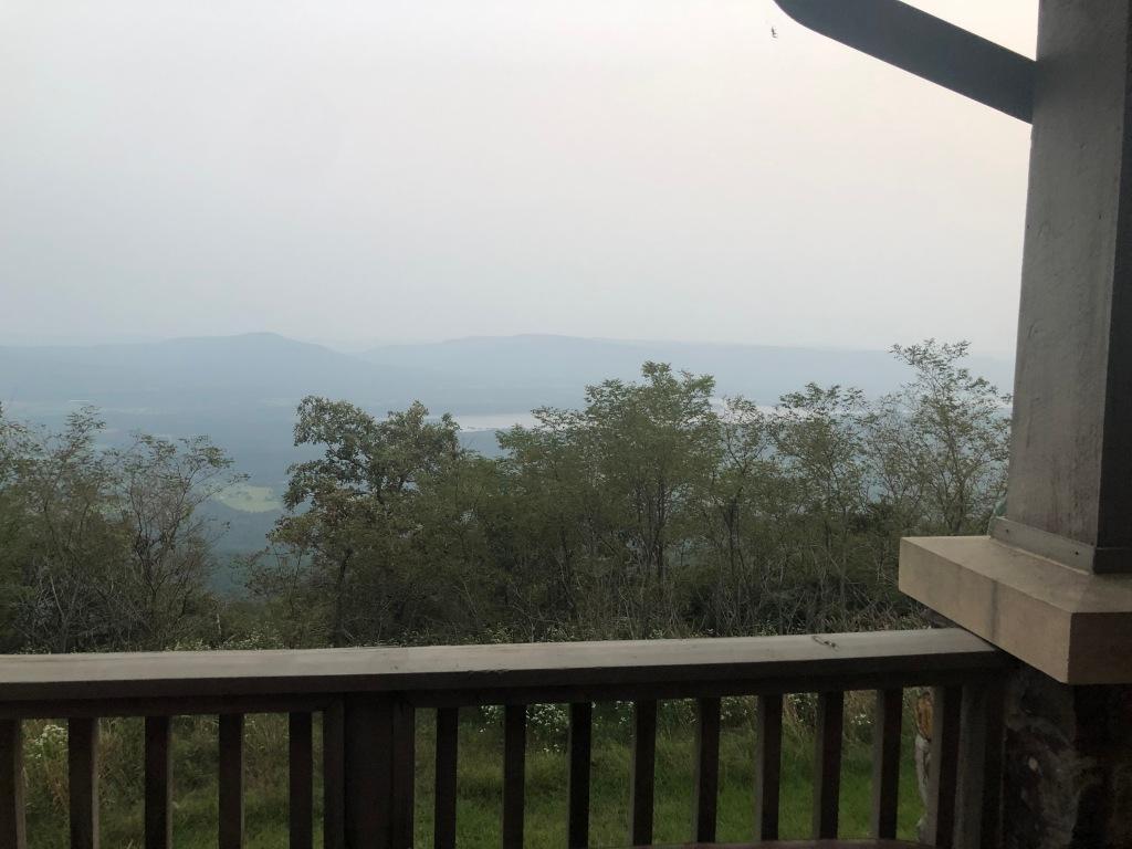 Mount Magazine cabin views