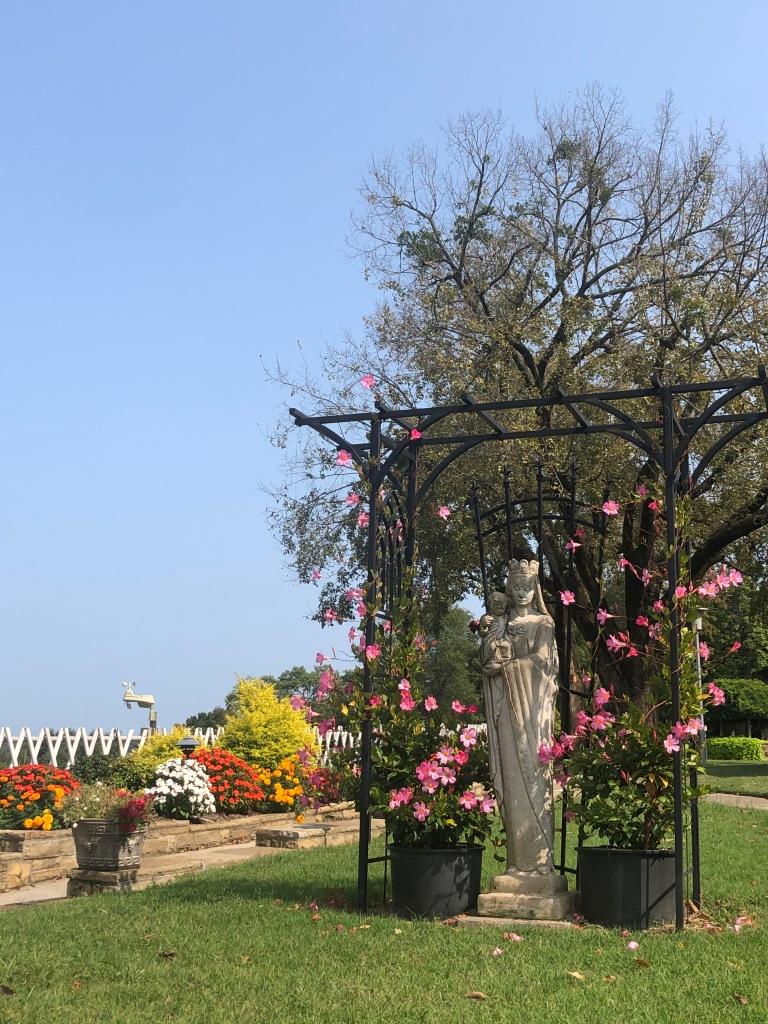 Subiaco gardens, Arkansas monastery