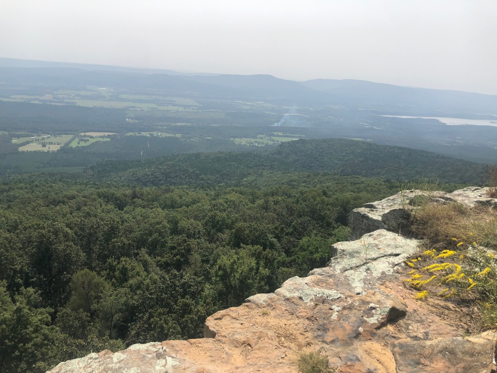 Mount Magazine State Park, Petite Jean Valley Overlook