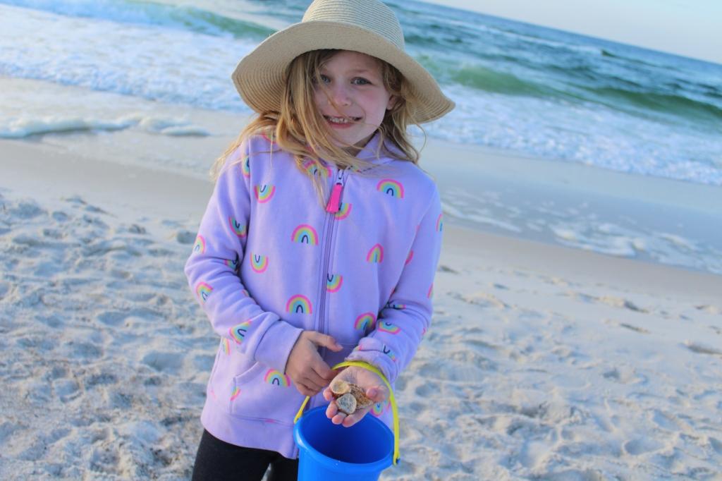 Sea Shells Gulf State Park in Gulf Shores, Alabama